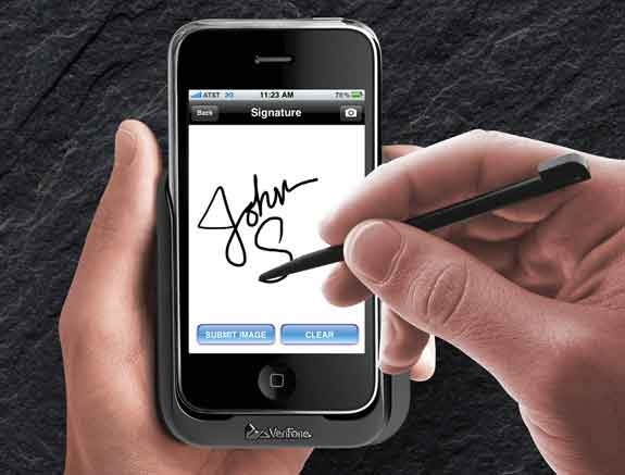 Electronic Signature Capture